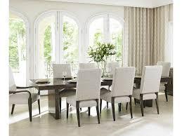 lexington laurel canyon nine piece dining set with san lorenzo
