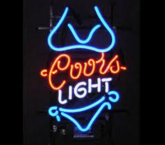 coors light bar sign coors light neon bar sign phantom dynamics