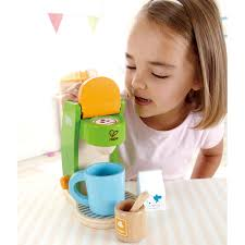 spielküche hape hape kaffeemaschine e3106 für die spielküche pirum holzspielzeuge