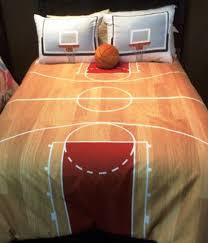 Sports Themed Duvet Covers Hallmart Kids Courtside Comforter Set Boys Basketball Bedding