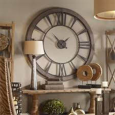 Decorative Wall Clocks For Living Room Oversized Wall Clocks Decoration Best Home Magazine Gallery