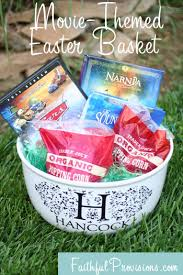 how to make easter baskets easier try a themed easter basket