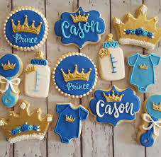 prince baby shower prince baby shower cookies hayley cakes and cookies