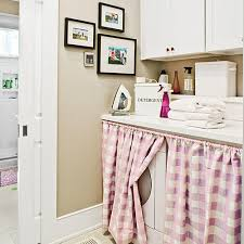Laundry Room Curtains 10 Ways To Organize The Laundry Room Southern Living