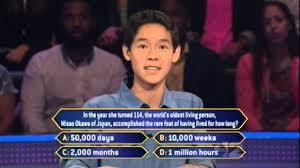millionaire whiz kid math nov 7 2014 youtube