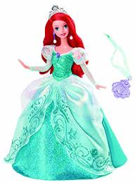 amazon disney princess holiday princess ariel doll toys u0026 games