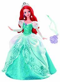 amazon disney princess holiday princess ariel doll toys u0026 games