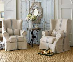 slipcover wing chair great add on skirt for different look on wing chair slipcovered