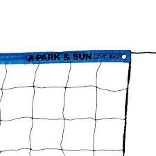 park u0026amp sun cable volleyball net walmart com