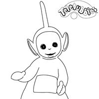 teletubbies coloring pages kids network