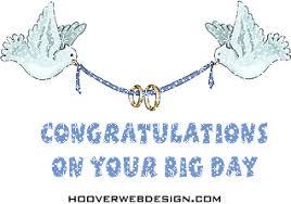 Wedding Congratulations Banner Congrats Wedding Bird Glitter