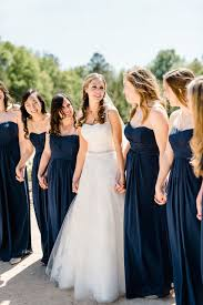 davids bridesmaid dresses a classic preppy wedding in carolina navy bridesmaids