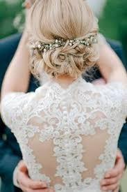Hochsteckfrisurenen Hochzeit Blond by Die Besten 25 Hochzeitsfrisur Offen Mit Blumen Ideen Auf