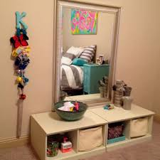hair and makeup station ikea inspired tween hair makeup station keep the