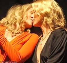Lesbian Porn Meme - why i loathe lesbian chic women celebrities kissing each other