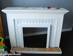 faux fireplace insert binhminh decoration