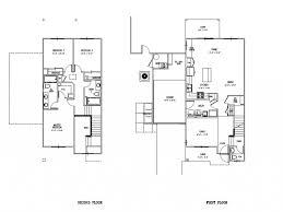 large floor plans 3 bed 2 5 bath apartment in schofield barracks hi island palm