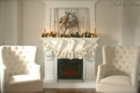 reindeer christmas mantel 2013 nest of bliss