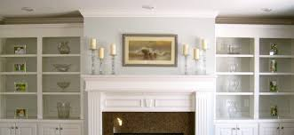 bookcases on side of fireplace styles yvotube com