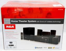 new home theater technology new rca rt2781be 1000w bluetooth home theater sound system 5 1 ch