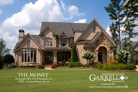 country style house plans monet house plan house plans by garrell associates inc