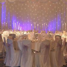 wedding backdrop hire essex starlight backdrop other wedding supplies ebay
