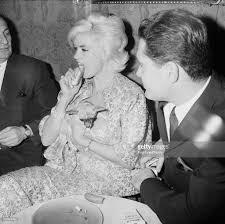 actress jayne mansfield with husband mickey hargitay at gaslight