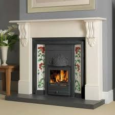 Cast Iron Fireplace Insert by Cast Iron Edwardian Fireplace Oxford Fuel Integra Mantled