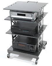Audio Video Equipment Racks Boltz Audio Video Equipment Racks Four Shelfhome Theater Plus