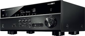 best black friday receiver deals yamaha rx v581bl 7 2 channel a v home theater receiver