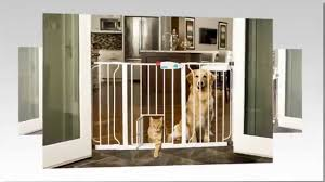 Extra Wide Pressure Mounted Baby Gate The Carlson Extra Wide Walk Through Gate With Pet Door Review Or