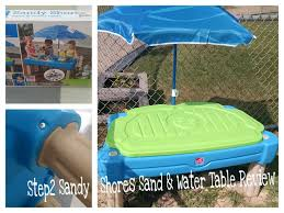 Step 2 Storybook Cottage Used by Step2 Sandy Shores Sand And Water Table Review And Giveaway