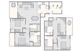 Three Bedroom Ground Floor Plan Mountain Run At Boyne Bluegreen Vacations