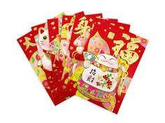 luck envelopes 6pcs 3 x 4 5good luck embossed gold envelopes by brillantezza