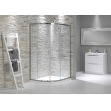 Bathroom Shower Trays by V6 Quadrant Offset Shower Enclosure 1000 X 800 Bathroom Ideas