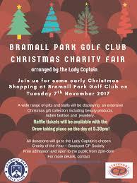 bramall park golf club u0027s christmas charity fair update stockport
