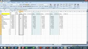 Budget Spreadsheets Using Excel To Budget Part 7 Budget For Irregular Income Youtube