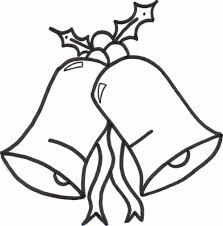 christmas bells coloring sheet