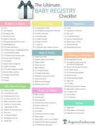 bridal registry ideas list baby shower gift registry list top 25 best ba shower registry