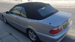 bmw 320ci convertible bmw 320ci 2001 for sale in limassol 92935en cyprus cars