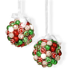 national tree company 6 in ornament hanging balls set rac zx75303