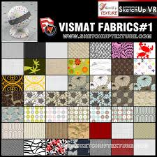 sketchup texture v ray for su vismat fabrics collection 1