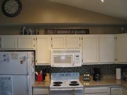 46 best over cabinet decoration ideas images on pinterest