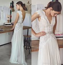 bohemian wedding dresses discount boho wedding dresses lihi hod 2017 bohemian bridal gowns