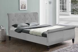 Grey Sleigh Bed Grey Sleigh Bed White Bed