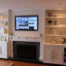 Trim Around Fireplace by Fireplace Wall Love These Gorgeous Built Ins Maybe Upgrade To