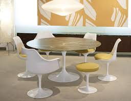 Tulip Table And Chairs Tulip Armless Chair Knoll