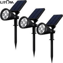 litom solar lights outdoor buy litom solar lights and get free shipping on aliexpress com