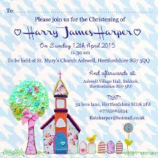 Baptism Card Invitation Christening Baptism Dedication Invitations By Buttongirl Designs