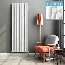 modern kitchen radiators ibathuk 1800 x 600 mm modern vertical column radiator white